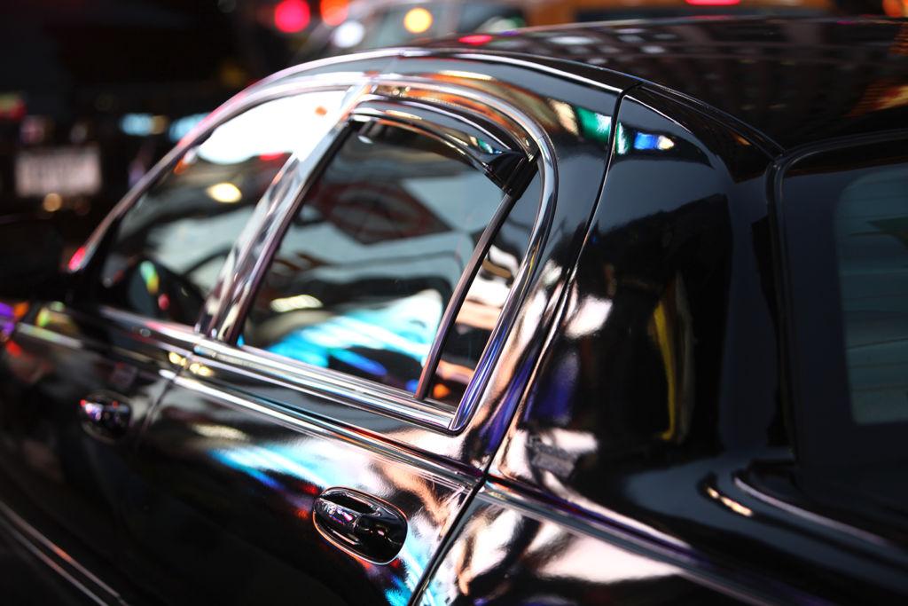 luxury town car
